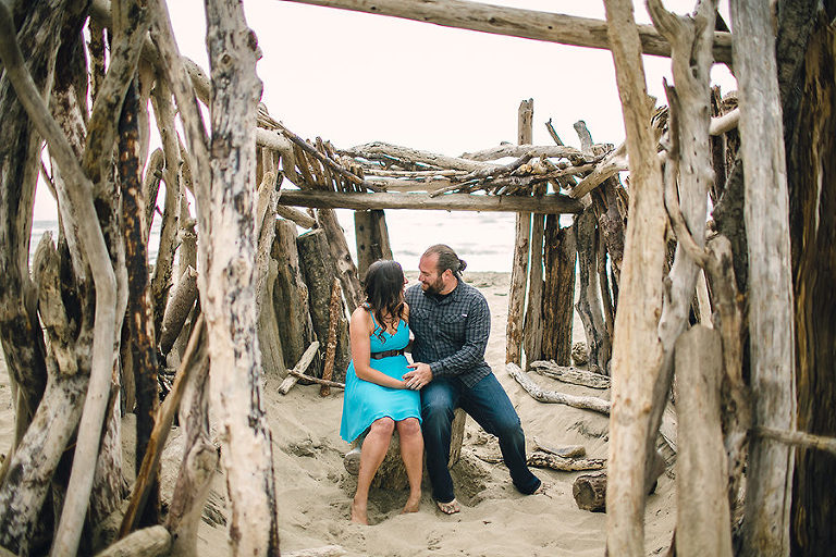 San Gregorio Beach Engagement Photographer